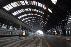 Milan Central station Royaltyfria Foton