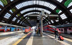 Milan Central Station, Italie photographie stock