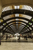 Milan, central station train Royalty Free Stock Image