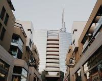 Milan centre piazza gae aulenti. Milan city centre near Gae aulenti Stock Photo