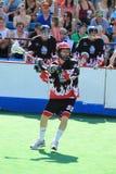 Milan Cernik - box lacrosse Stock Image