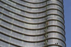 Milan cesar pelli tower Stock Images