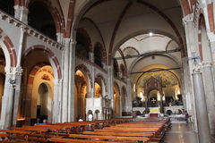 Milan church Royalty Free Stock Photo