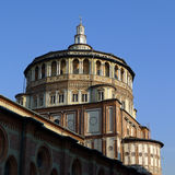 Milan Church Holy Mary Of Grace Stock Photo
