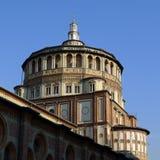 Milan Church Holy Mary Of nåd Arkivfoto