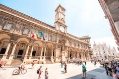 Milan city center Royalty Free Stock Image