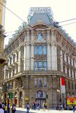 Milan City Center. A view of the Alleanza Assicurazioni building in Milan, Italy Stock Image