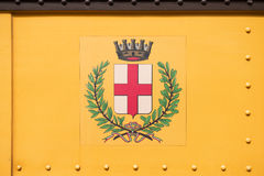 Milan city coat of arms Royalty Free Stock Images