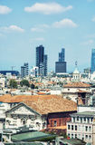 Milan city, historical and modern town, Italy Royalty Free Stock Photos