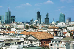 Milan city. Milan is the second-most populous city in Italy, serves as the capital of Lombardy Stock Images