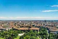 Milan cityscape, Italy Stock Image