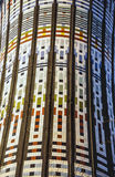 Milan, colorful tower Stock Photo