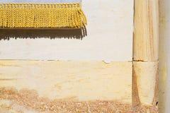 Milan dans la vieille brique de mur en béton d'église de l'Italie l'or photos libres de droits