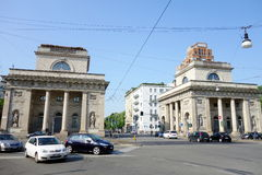 Milan Dazi. A street view of Corso Buenos Aires in Milan, Italy Royalty Free Stock Photography