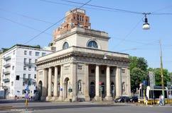 Milan Dazio. A street view of Corso Buenos Aires in Milan, Italy Royalty Free Stock Photo