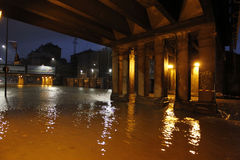 Milan den fiumeseveso floden Royaltyfri Foto