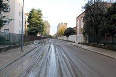 Milan den fiumeseveso floden Royaltyfria Bilder