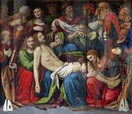 Milan - Deposition of Christ Stock Image