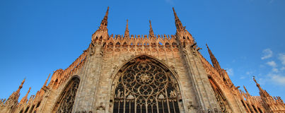 Milan dome Stock Photo
