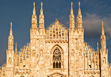 Milan Dome Stock Photography