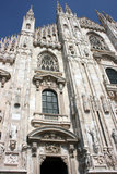 Milan Dome Royalty Free Stock Photography