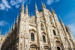 Milan Dome. Milan Cathedral (Duomo di Milano) is the cathedral church of Milan in Lombardy, northern Italy. It is the seat of the Archbishop of Milan. The stock photography