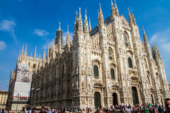 Milan Dome Stock Images