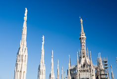 Milan Dome Royalty Free Stock Images