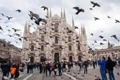 Milan domkyrka Arkivbilder