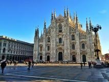 Milan domkyrka Arkivbild