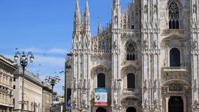 Milan domkyrka Royaltyfri Foto