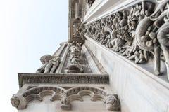 Milan domkyrka royaltyfria foton