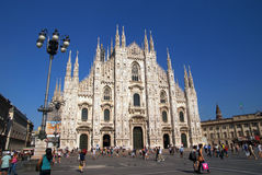 Milan Duomo Royaltyfri Foto