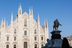 Milan Duomo Immagini Stock