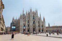 Milan Duomo Fotografie Stock