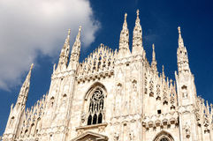 Milan -the Duomo cathedral Stock Photo