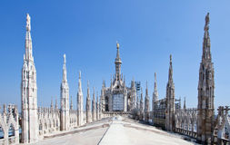 Milan Duomo Cathedral Royalty Free Stock Image