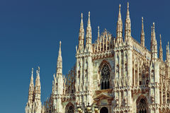 Milan Duomo Cathedral Royalty Free Stock Images