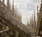 Milan Duomo detail Royalty Free Stock Photography