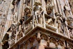 Milan Duomo Detail Stock Image