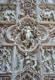 Milan Duomo detail Stock Photo