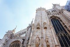 Milan Duomo Details Fotografie Stock Libere da Diritti