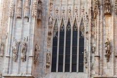 Milan Duomo Details Royalty Free Stock Photography