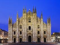 Milan Duomo Front Rise Stock Photography