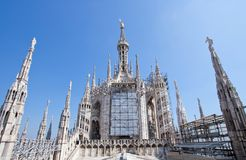 Milan Duomo Italy Royalty Free Stock Photo