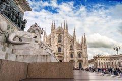 Milan Duomo Square Stock Image