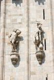 Milan Duomo Statues Stock Photography