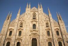 Milan - Duomo west facade Stock Images