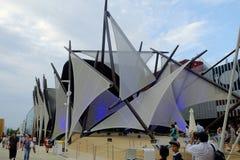 Milan Expo fotografia stock libera da diritti