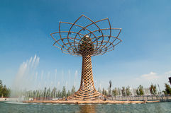 Milan Expo 2015 19 Photo stock